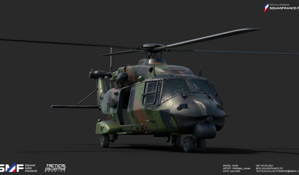WIP #21 NH-90 helicopter